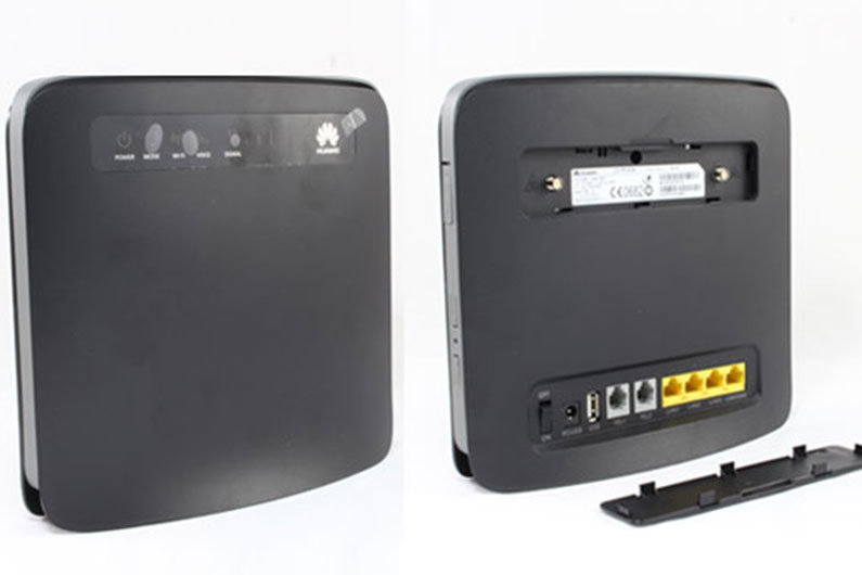 Mobile router used on a narrow boat can provide a more substantial internet connection