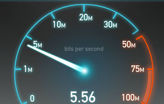 Speed tests can be used to test upload and download speeds on your internet