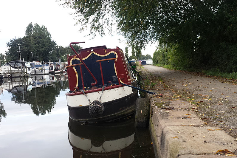 Narrowboat insurance is a requirement of your CRT leisure licence