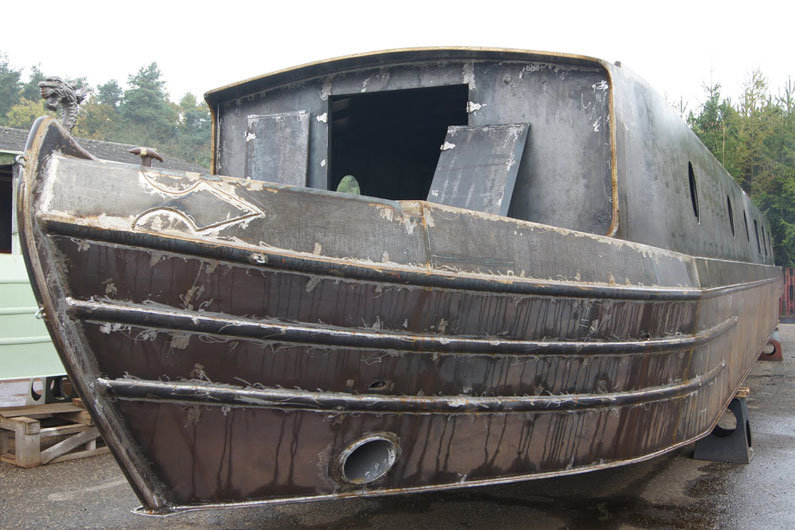 Narrowboat steel hulls have a unique classification to differentiate between the types of steel used.
