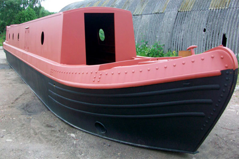 Hull types on narrowboats have remained largely unchanged over the past 200 years