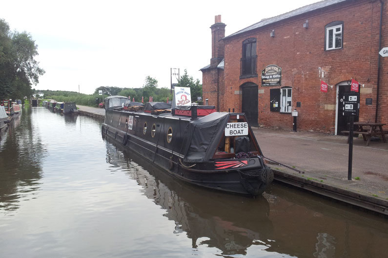 Traders are actively encouraged on the waterways, but a business licence is required for all trading narrowboats