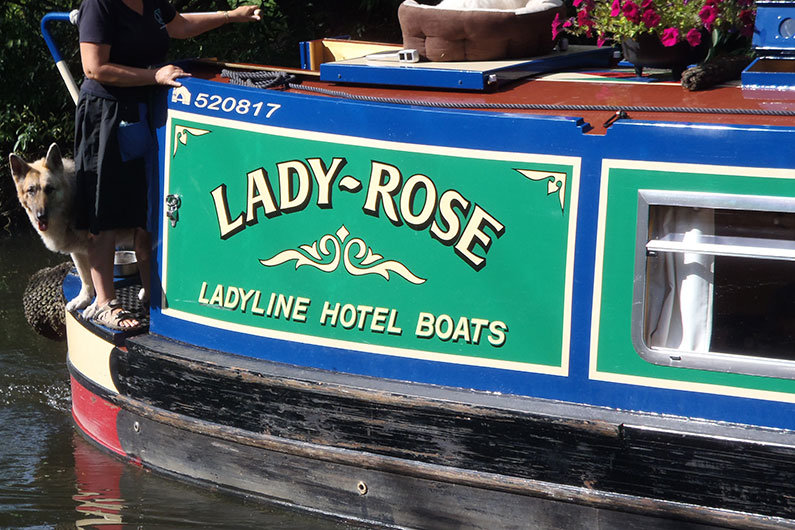 A trader licence is required for anyone operating a business on the waterway