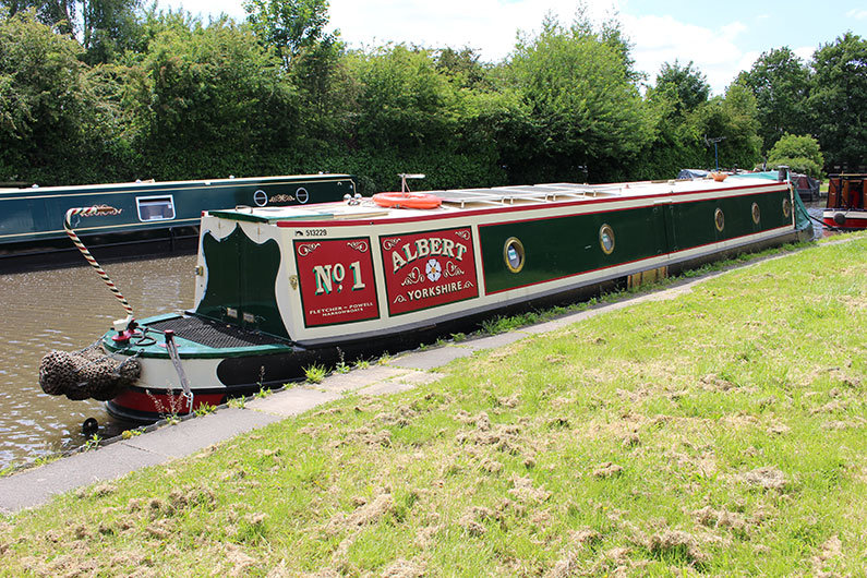 Buying a share in a narrowboat is a popular option