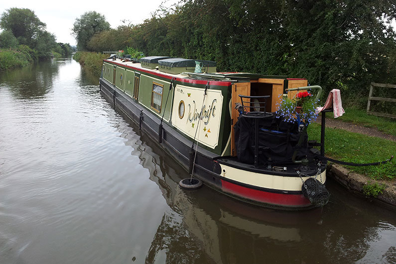 All narrowboats require a pleasure licence from Canal & River Trust