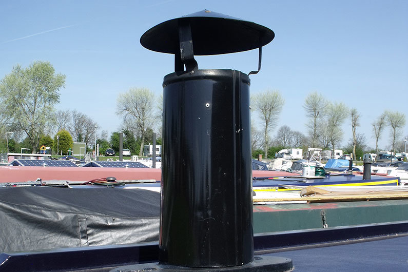 Ventilation on a narrowboat is vital regardless of the type of heating used