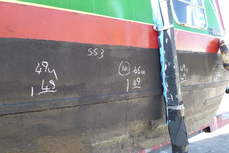 A narrow boat survey could be hull only, a full survey or in water survey