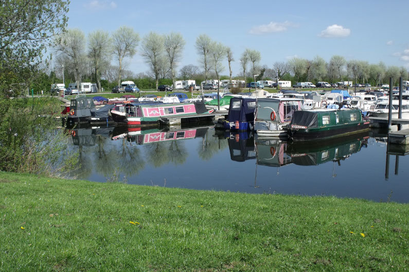 Marina moorings for narrowboats are a popular choice for security and facilities