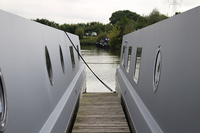 A sailaway narrow boat is a popular choice for DIY enthusiasts
