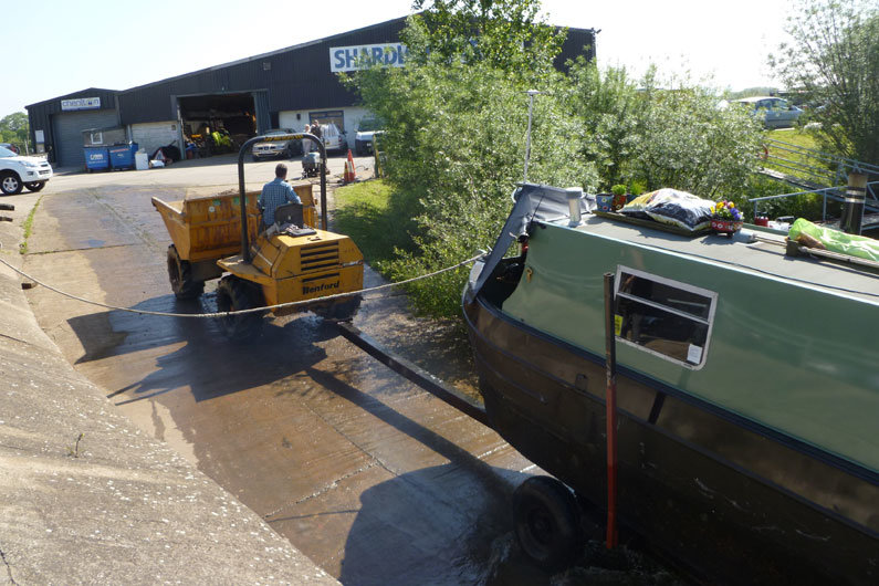 A narrowboat survey is advisable when purchasing second hand