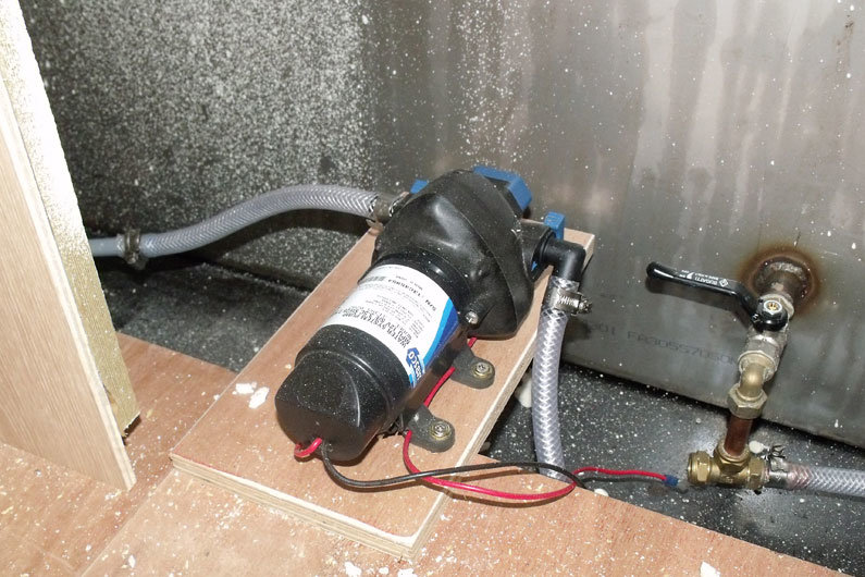 Guide To Narrowboat Water Pumps Waste Water Pumps