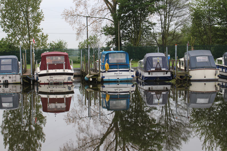 Boat club moorings for narrowboats are a sociable option, often with good facilities