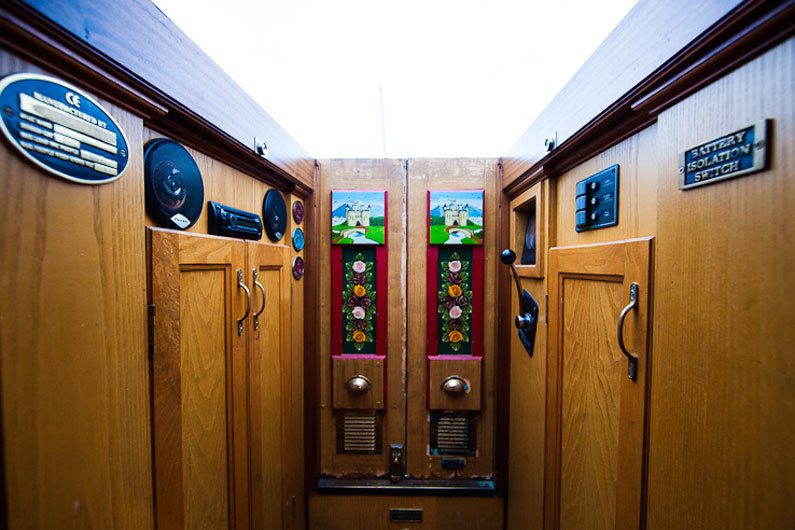 Car stereos are often used on a narrowboat as they can be plugged directly in to the narrow boats 12v DC system