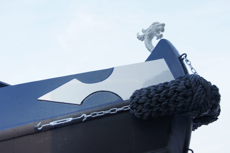 Fenders protect a narrowboat hull from bumps & knocks