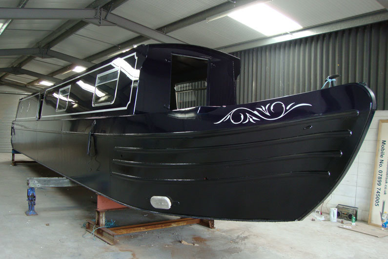 Narrowboat hull protection is a regular maintenance task to be considered