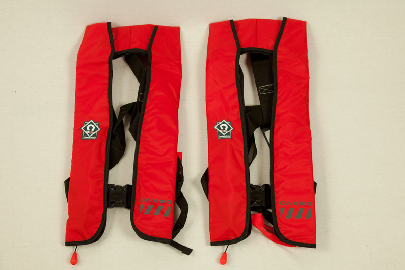 Modern narrowboat life jackets are light weight and unobtrusive