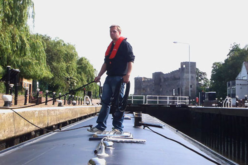 Lifejackets are an essential piece of narrow boaters cruising kit