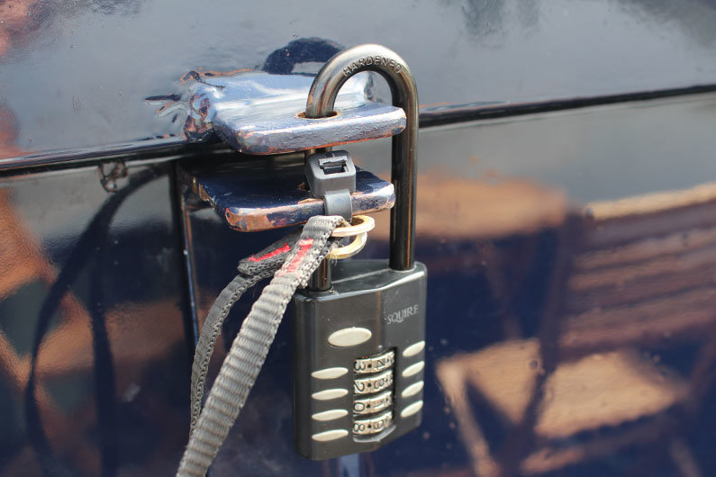 Make sure your narrowboat is secure when you leave it