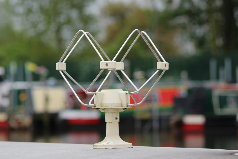 Narrowboat aerials come in all shapes and sizes