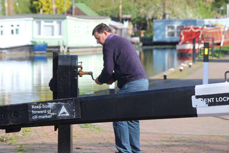 Windlass or lock key is vital narrowboat equipment