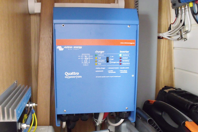 A narrowboat inverter is integral to most narrow boats power management system