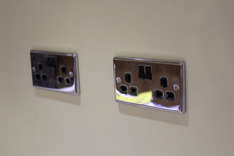 Specifying the correct sockets on a narrowboat is vital