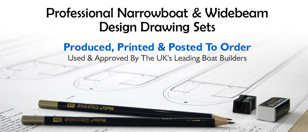 Narrowboat & Widebeam Plans, Technical Drawings, Engineered Drawings