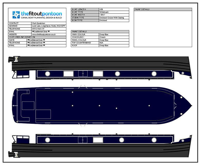 Narrowboat & Widebeam Colour Schemes