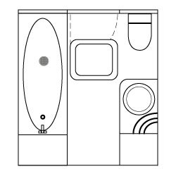 Widebeam canal boat bathroom design concept and ideas 05