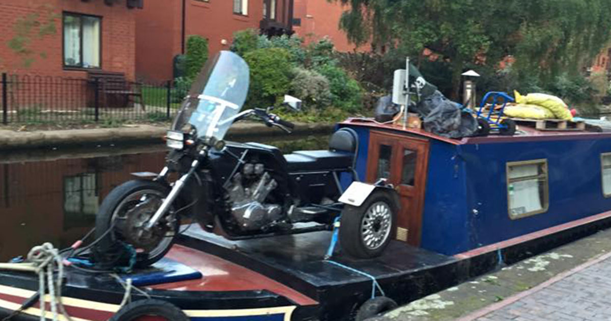 Storing Bikes On Boats: Bikes, Scooters & Motorbikes On A Narrowboat